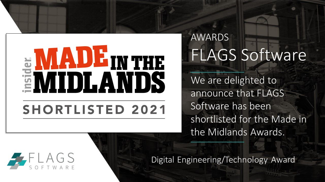 FLAGS Software shortlisted for prestigious award